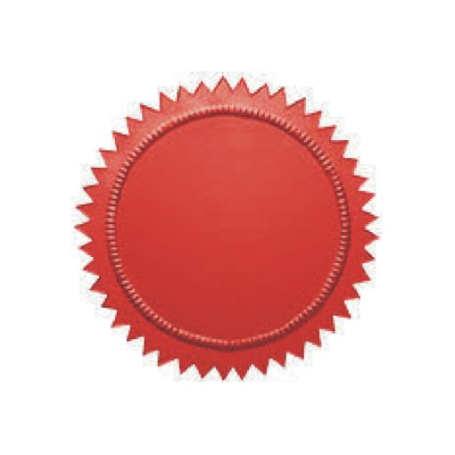 red-embossing-label