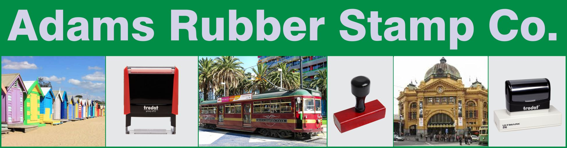 Adams Rubber Stamps Melbourne